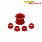 Silentblocks de la Direccion Energy Suspension Rojos (Civic/CRX 87-93)