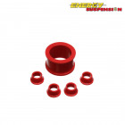 Silentblocks de la Direccion Energy Suspension Rojos  (Civic 91-96/Del Sol/Integra 94-01)