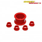 Silentblocks de la Direccion Energy Suspension Rojos (Civic 95-01)