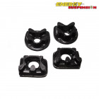 Insercciones Patas de Motor Energy Suspension en color Negro  (Prelude 92-01)