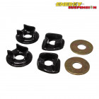 Insercciones Patas de Motor Energy Suspension en color Negro  (Civic/CRX 87-93)