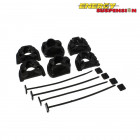 Insercciones Patas de Motor Energy Suspension en color Negro (Civic 95-01/Integra 94-01)