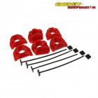 Insercciones Patas de Motor Energy Suspension en color Rojo  (Civic 95-01/Integra 94-01)