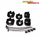 Insercciones Patas de Motor Energy Suspension en color Negro  (B16A1)
