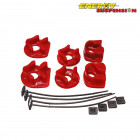 Insercciones Patas de Motor Energy Suspension en color Rojo (B16A1)