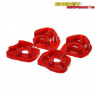 Insercciones Patas de Motor Energy Suspension en color Rojo  (K20 01-06)