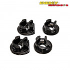 Insercciones Patas de Motor Energy Suspension en color Negro (Civic 01-05 EP1/EP2)