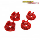Insercciones Patas de Motor Energy Suspension en color Rojo  (Civic 01-05 EP1/EP2)