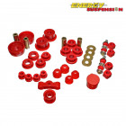 Kit de Silentblocks Energy Suspension en color Rojo  (Civic/CRX 83-87)