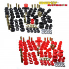 Kit de Silentblocks Energy Suspension en color Rojo  (16.18102R) (Civic/CRX 87-93)