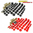 Kit de Silentblocks Energy Suspension en color Rojo (16.18103R) (Civic 91-96/Del Sol/Integra 94-01)