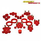 Kit de Silentblocks Energy Suspension en color Rojo (Prelude 92-96)