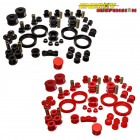 Kit de Silentblocks Energy Suspension en color Rojo  (16.18109R) (Civic 95-01 VTi)