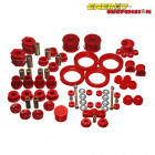 Kit de Silentblocks Energy Suspension en color Rojo  (Civic 95-01 Non-VTi)