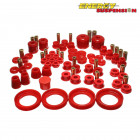 Kit de Silentblocks Energy Suspension en color Rojo  (Prelude 97-01)