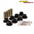 Silentblocks Brazos Traseros Energy Suspension Negros (Civic/CRX 87-93/Civic 91-96/Integra 94-01 anclaje traseros tipo  Eye)