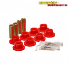 Silentblocks Brazos Traseros Energy Suspension Rojos (Civic/CRX 87-93/Civic 91-96/Integra 94-01 anclaje trasero tipo Eye)