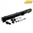 AEM Electronics High Flow Fuel Rail Black Anodized (Honda H/F-Engines)