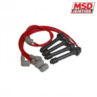 Cables de Bujia MSD color Rojo  (B-Engines 87-01)