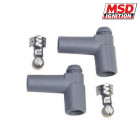 Conectores MSD para Cables de Bujias  90°  (Universal)