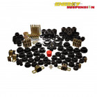Kit de Silentblocks Energy Suspension en color Negro  (Nissan S14)