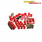Kit de Silentblocks Energy Suspension en color Rojo  (Nissan S13)