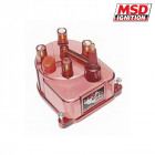 Tapa de Distribuidor MSD en Rojo Transparente (Civic 91-01/Prelude 92-01/Accord 98-03)