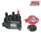 Tapa de Distribuidor MSD en color Negro  (B16B/B18C-Engines)
