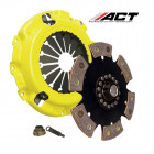 ACT Xtreme Pressure Solid 6 Pad Clutch Set (Mitsubishi 4G63T-Engines 92-96)