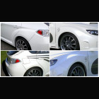 Aerodynamics STi Wide Body Fender Kit (Impreza 07-Up)
