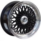 Lenso BSX 16x9 4x100 ET20 Black con Lip Pulido (Universal)