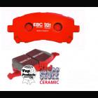 Pastillas Traseras EBC Redstuff (Civic/CRX 87-93/Del Sol/Civic 91-96/Civic 95-01 2/3/4dr )