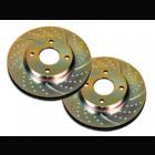 Discos Delanteros EBC Turbogroove  (Civic 91-96 DXi/LSi/ESi/Civic 96-98 1.4 3dr)