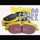 Pastillas delanteras  EBC Yellowstuff  (Nissan 350Z 03-09 OE Brembo 324x30mm )
