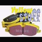 EBC Yellowstuff Brake Pads Front (Prelude 92-96 2.2/2.3/Prelude 97-01 2.2/Integra R/Civic 95-01 1.8/NSX)