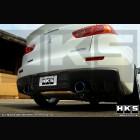 Escape Intermedio HKS Legamax Premium  (Evo X)