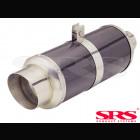 Escape Trasero SRS  inox G55-CB1 (Universal)