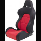 Adjustable Sport Seat Type Eco Chamois Red (Universal)