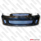 Aerodynamics Backyard Style Front Bumper With Carbon Lip (Civic 95-98 2/3/4dr)