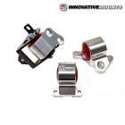 Soportes de  Motor  Innovative de Reemplazo con dureza para uso de Circuito  (acabado pulido y para pata de distribucion de 3 tornillos) (Civic 95-01)