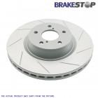 Discos de Freno Delanteros BrakeStop (Civic/CRX 87-93 VTEC/Civic 91-96 VTi/Civic 95-01 1.4/1.5/1.6/Civic 01-05 2dr 1.7/Del Sol)