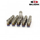 BLOX Racing 7-Sided Forged Ti Lug Nuts M12x1.5 16 Pieces (Universal)