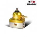 BLOX Racing 2-Port Competition Adjustable Fuel Pressure Regulator Gold/Silver (Universal)