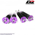 Suspensiones Regulables D2 Racing modelo Rallye Asfalto  (Civic 91-96/Del Sol/Integra 94-01 Rear Eye)