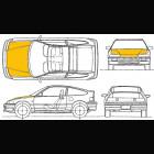 Capó de Fibra de Vidrio OEM (Civic/CRX 87-93 VTEC)