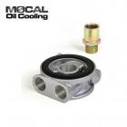 Adaptador de Sensores de Aceite  Mocal con Termostato  (Honda/Mazda/Ford/Mitsubishi/Subaru/Hyundai)