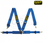 Arnés QSP Modelo Club de 4 puntos Homologado FIA color Azul (Universal)