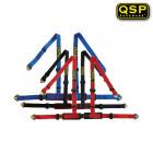 Arnes QSP Modelo Street Pro de 4 Puntos y color Rojo  (Universal)