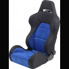 Adjustable Sport Seat Type Eco Chamois Blue (Universal)