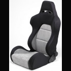 Adjustable Sport Seat Type Eco Chamois Grey (Universal)